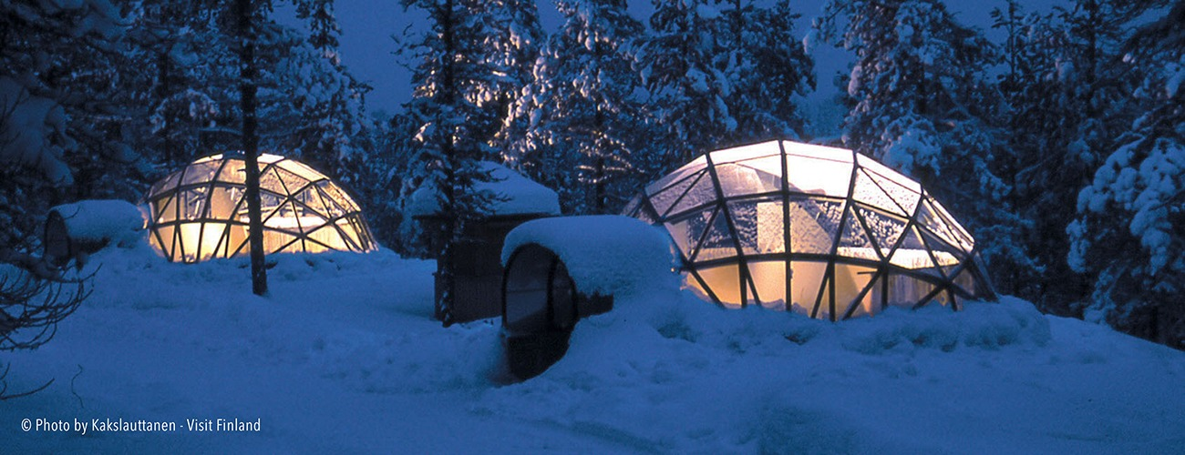 Or do you wish to see the winter and snow? In Finland, you have the possibility to choose. You are warmly welcome!