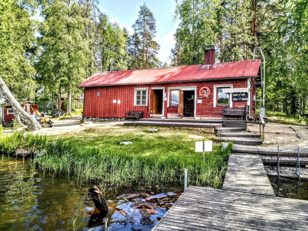 Finnish sauna Lehtisaari